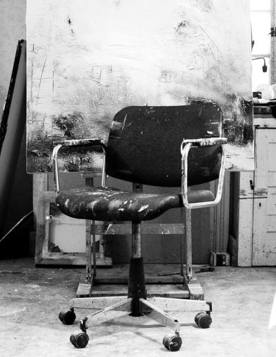 Ross Loveday artists chair